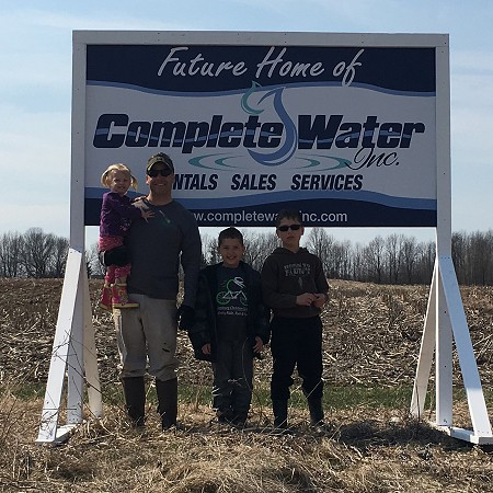 Complete Water in Waldo, Wisconsin prides itself on customer service.