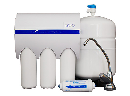 Reverse Osmosis 4 Stage Filtration System (RO)